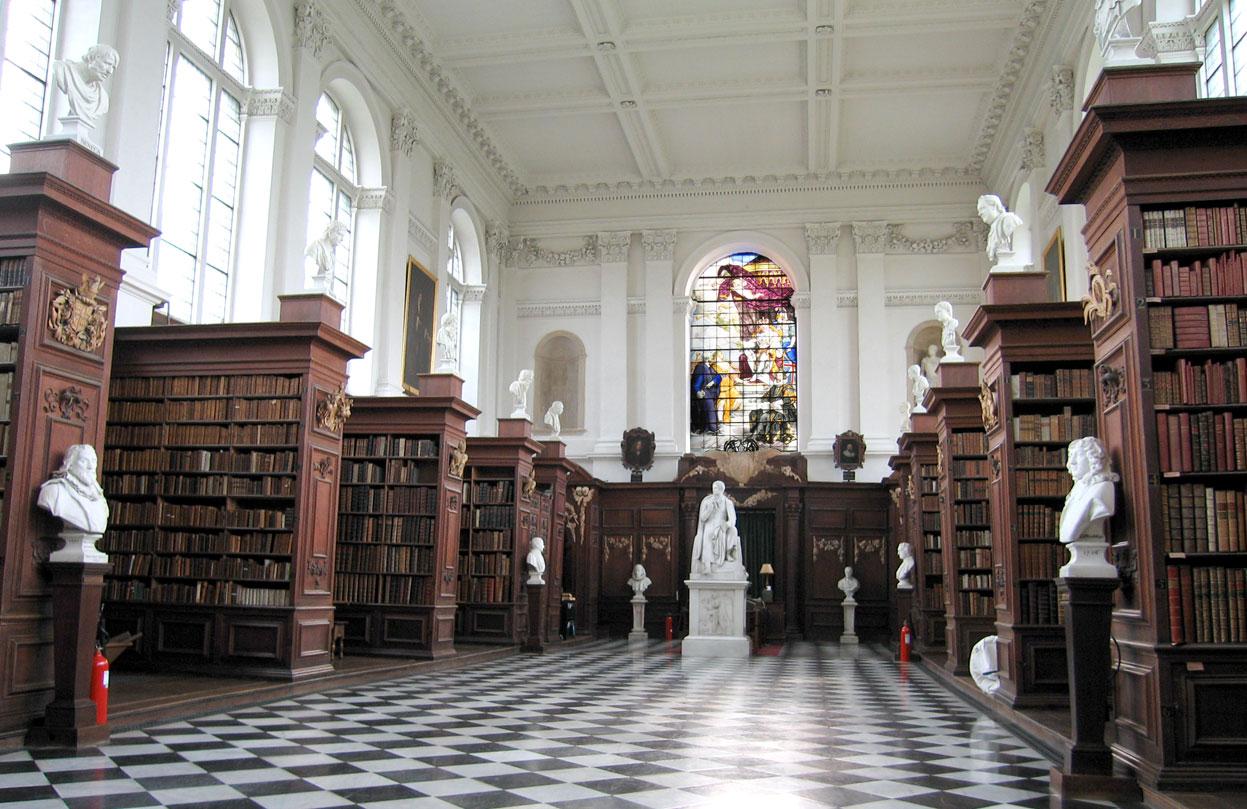 Biblioteca Wren, en Cambridge