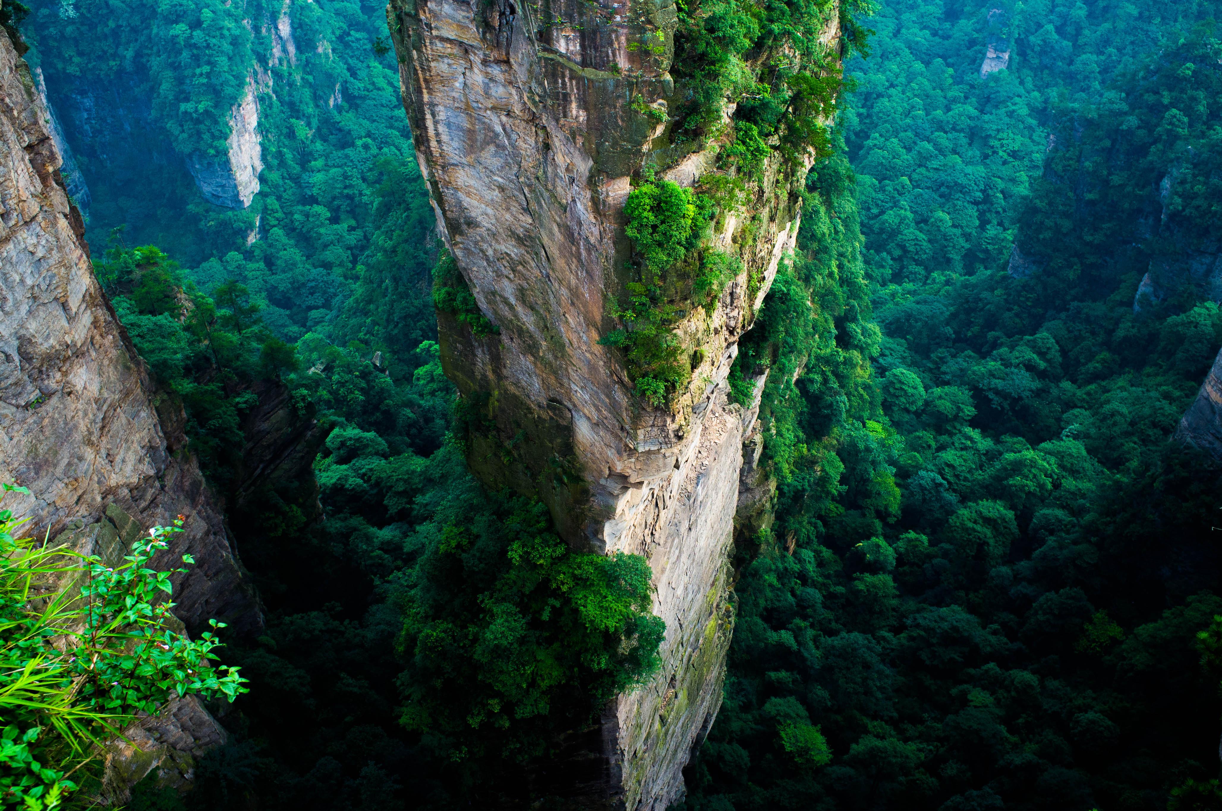 Zhangjiajie National Forest Park í Kína
