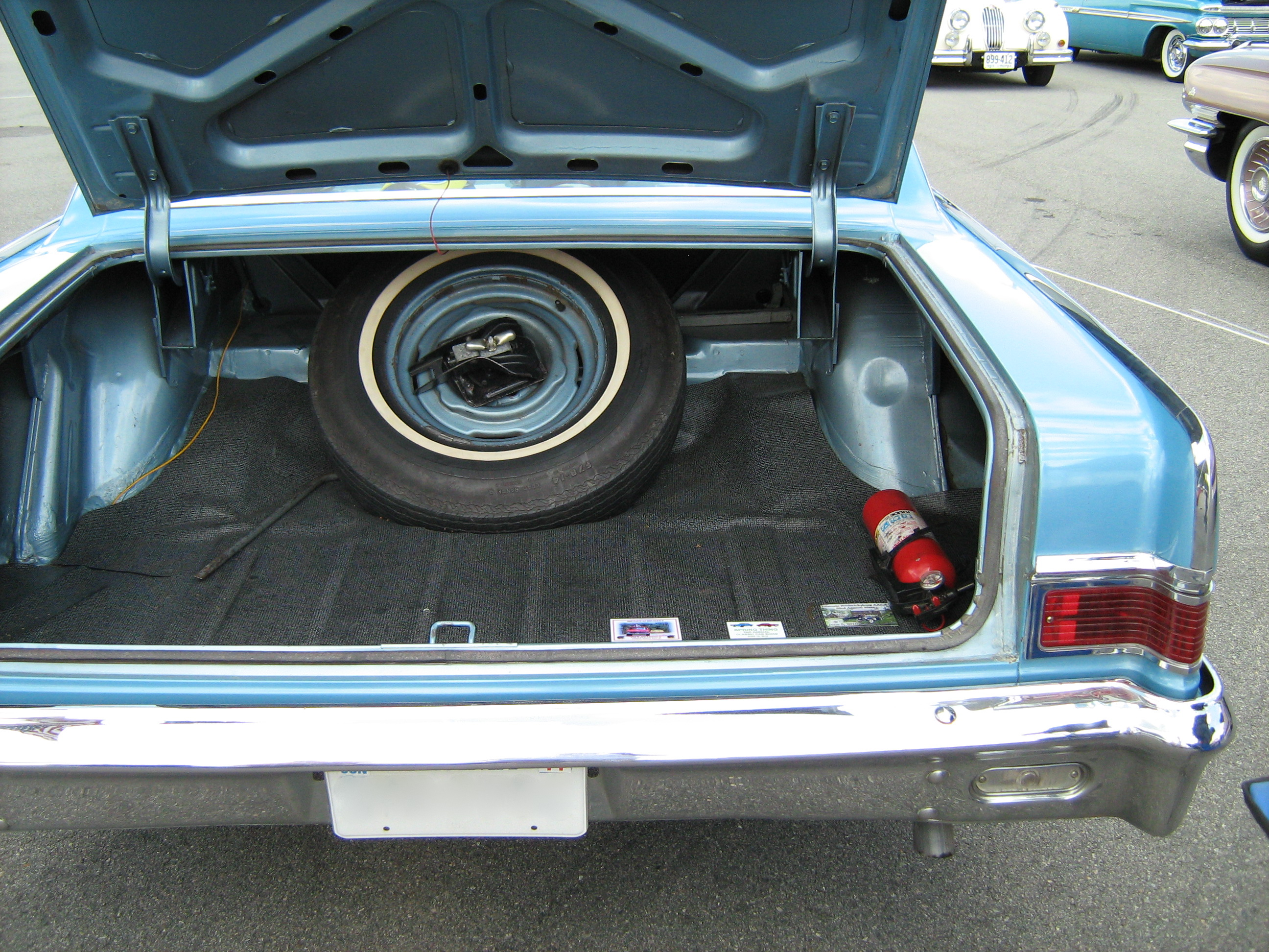 Car Trunk Lock Cover