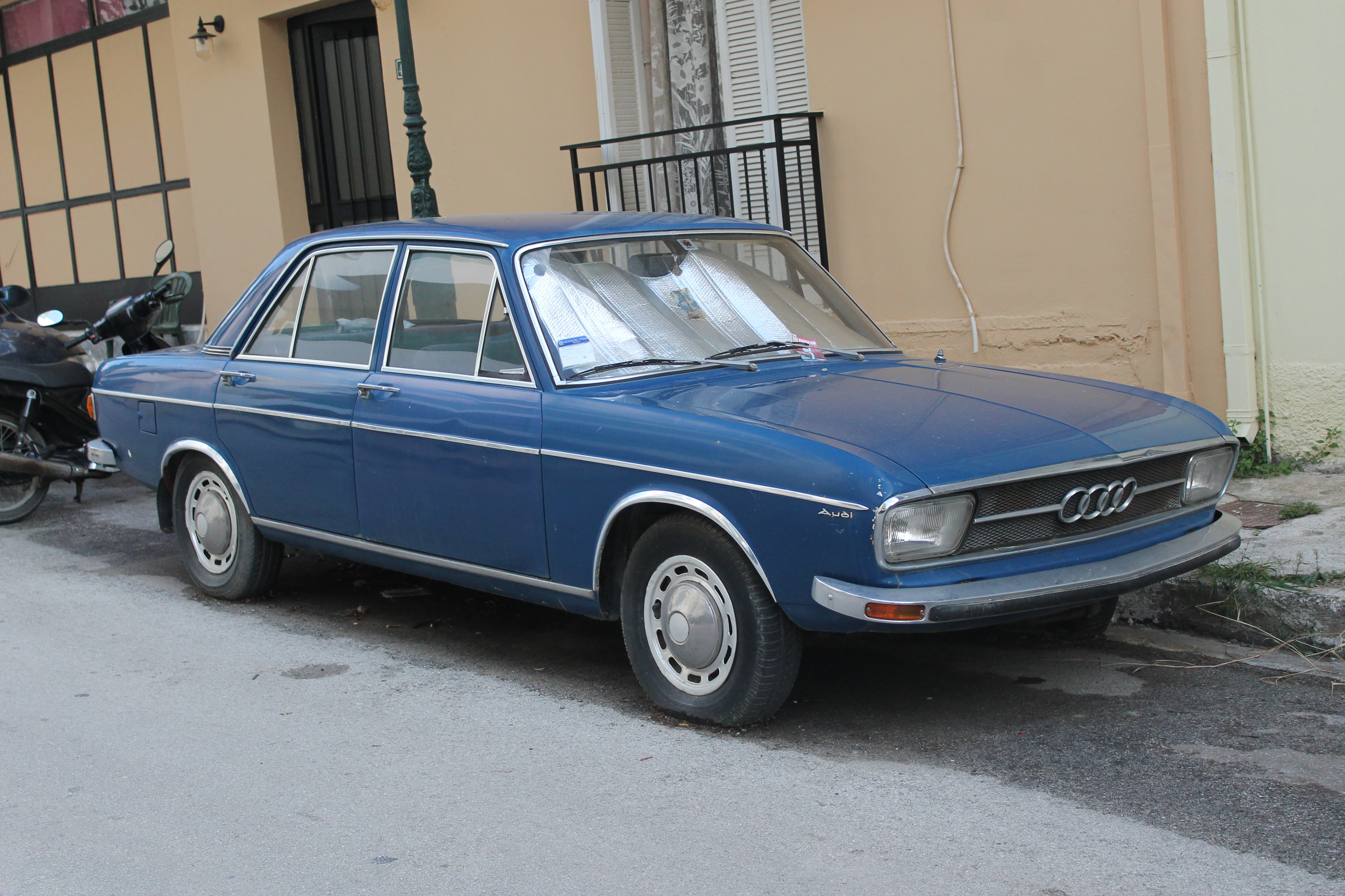 File 1970s Audi 100 Ls 10710963976 Jpg Wikimedia Commons