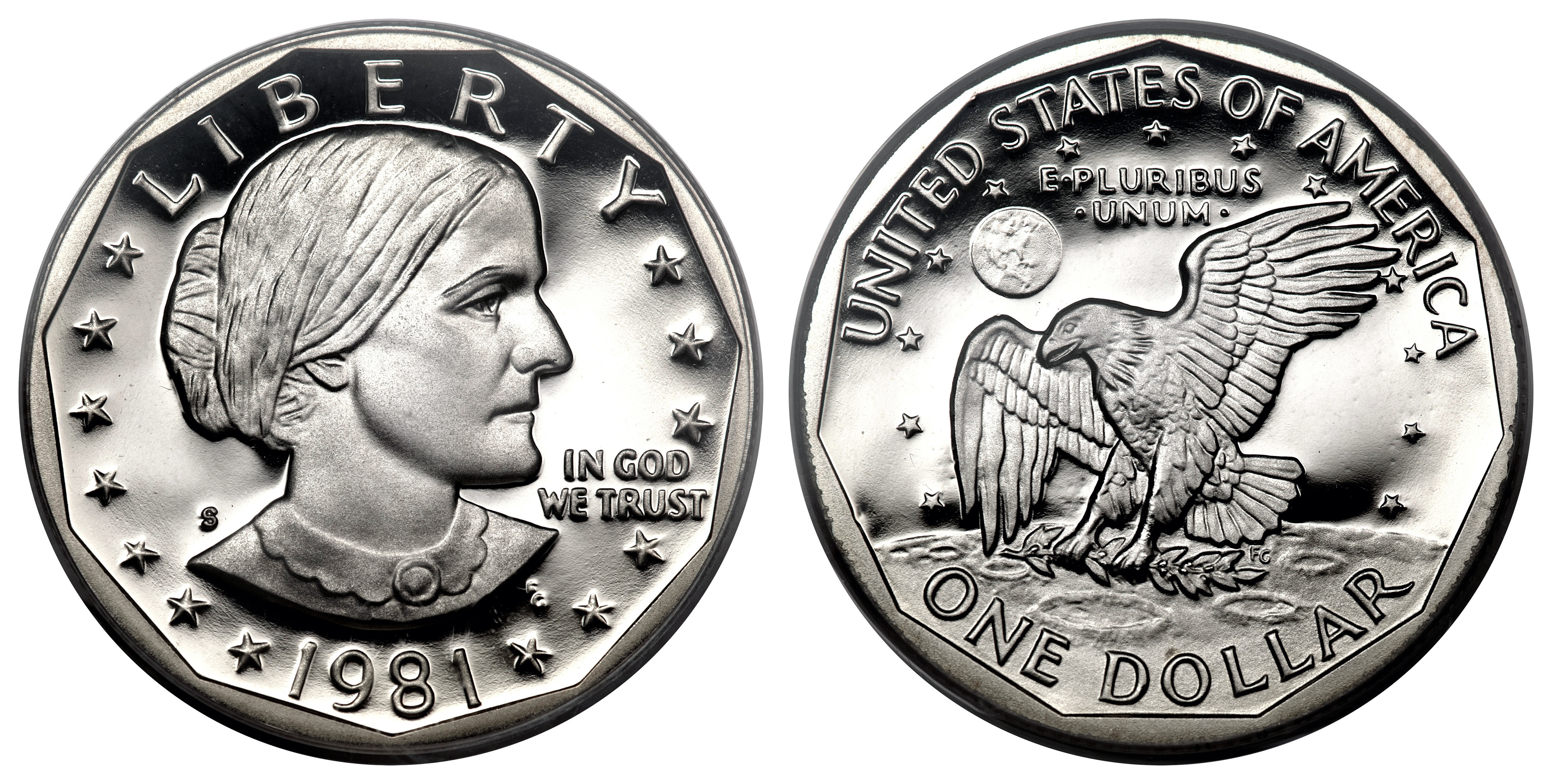 Susan B Anthony Dollar