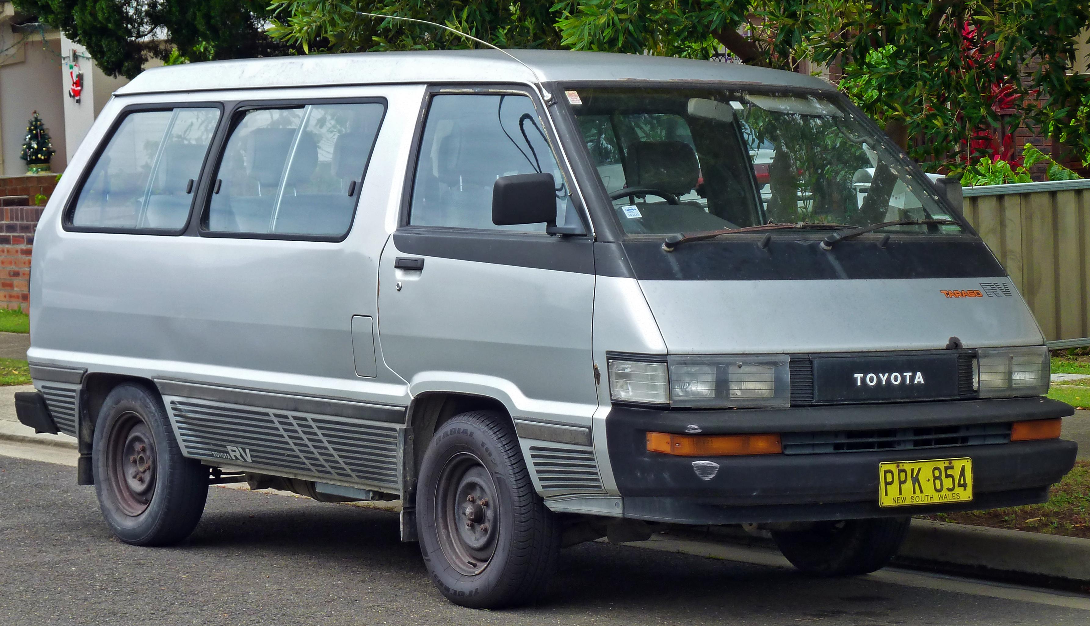 File1987 1990 Toyota Tarago YR22RG RV Van 2010 12