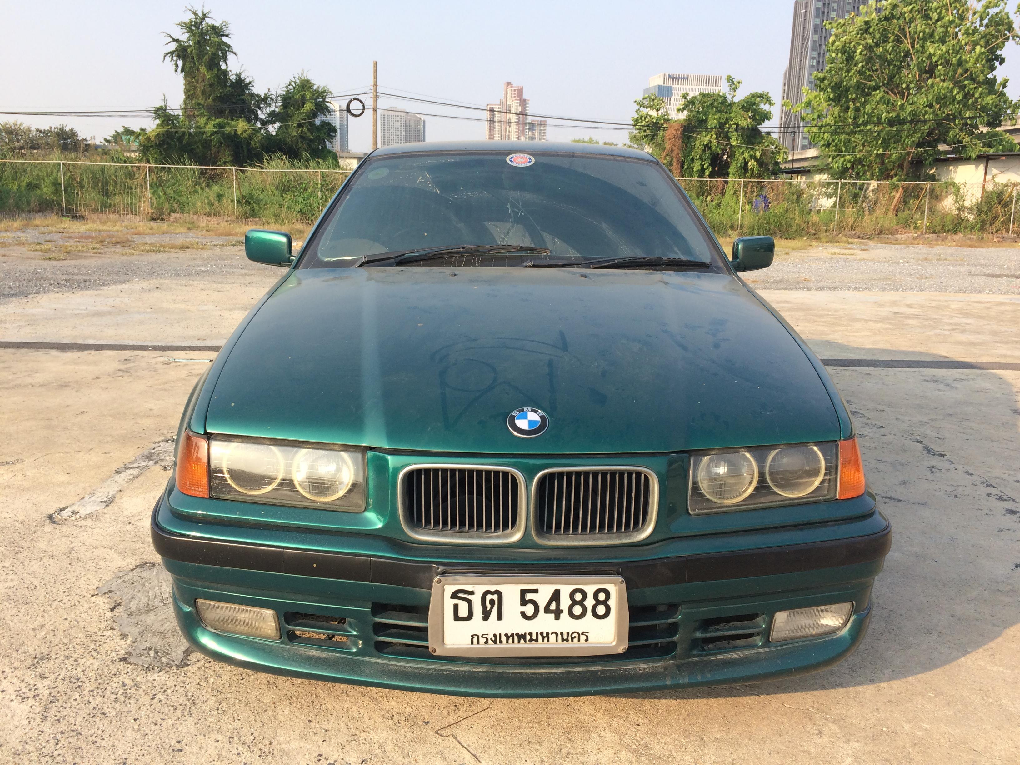 File 1995 1996 Bmw 318i E36 Sedan 22 02 2018 07 Jpg Wikimedia Commons