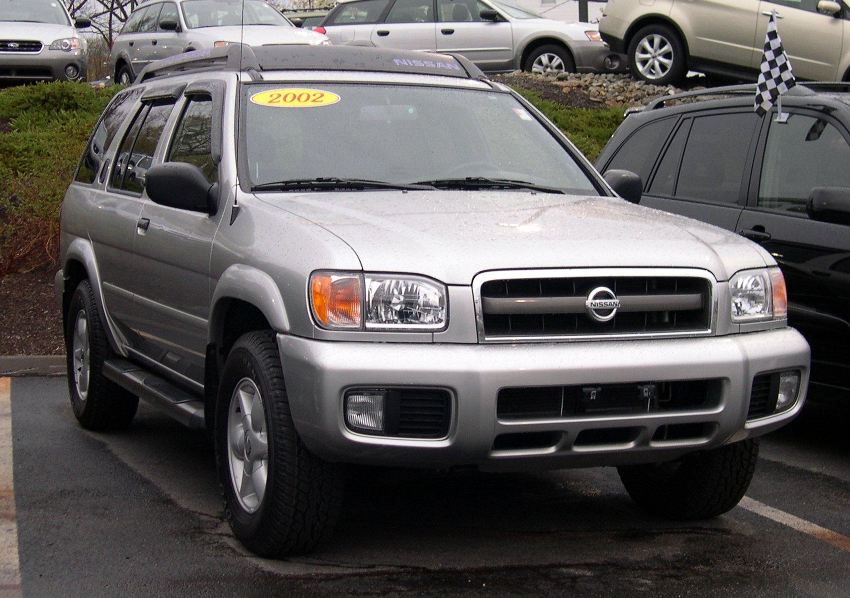 File 2002 Nissan Pathfinder 2 Jpg Wikimedia Commons