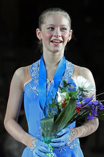 Yulia Lipnitskaya scored 187.05 points at the 2012 Junior Worlds which was a World junior record at the time. She scored five World junior records during her junior career. Two of the records were previously held by Mao Asada and they had lasted six and a half years until Lipnitskaya broke them in October 2011.