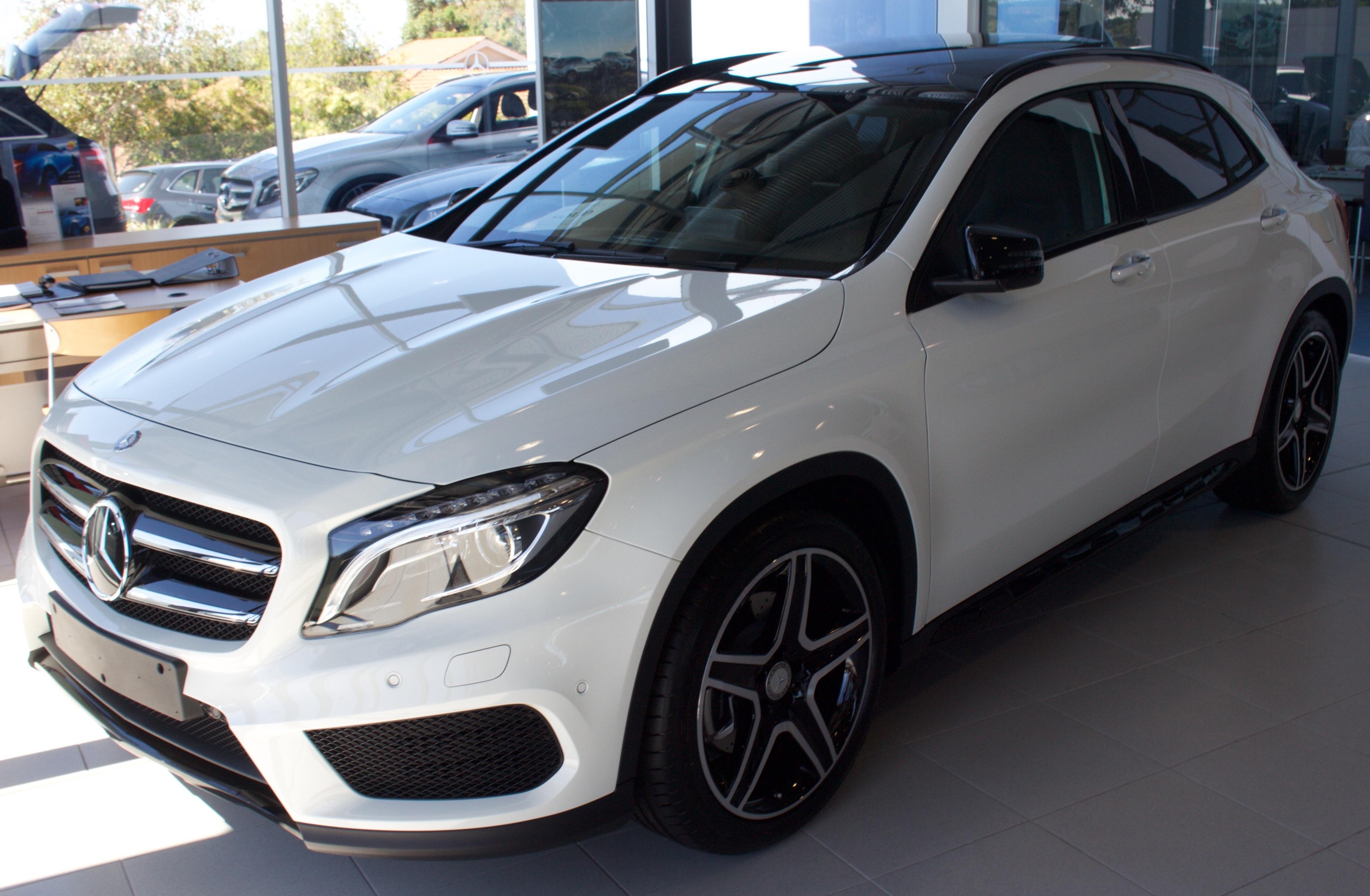 Mercedes Benz Gla History >> File 2016 Mercedes Benz Gla 250 X 156 4matic Wagon 2016 03 05 01