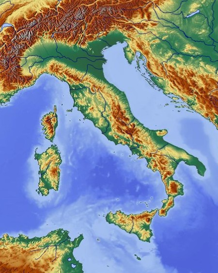 Topographic Map Italy.File 449x562 Gmt Italie R1 Jpg Wikimedia Commons