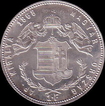 AHG hun 1 1868 reverse