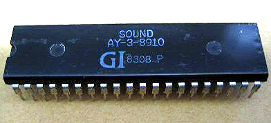 The AY-3-8910 Sound Chip