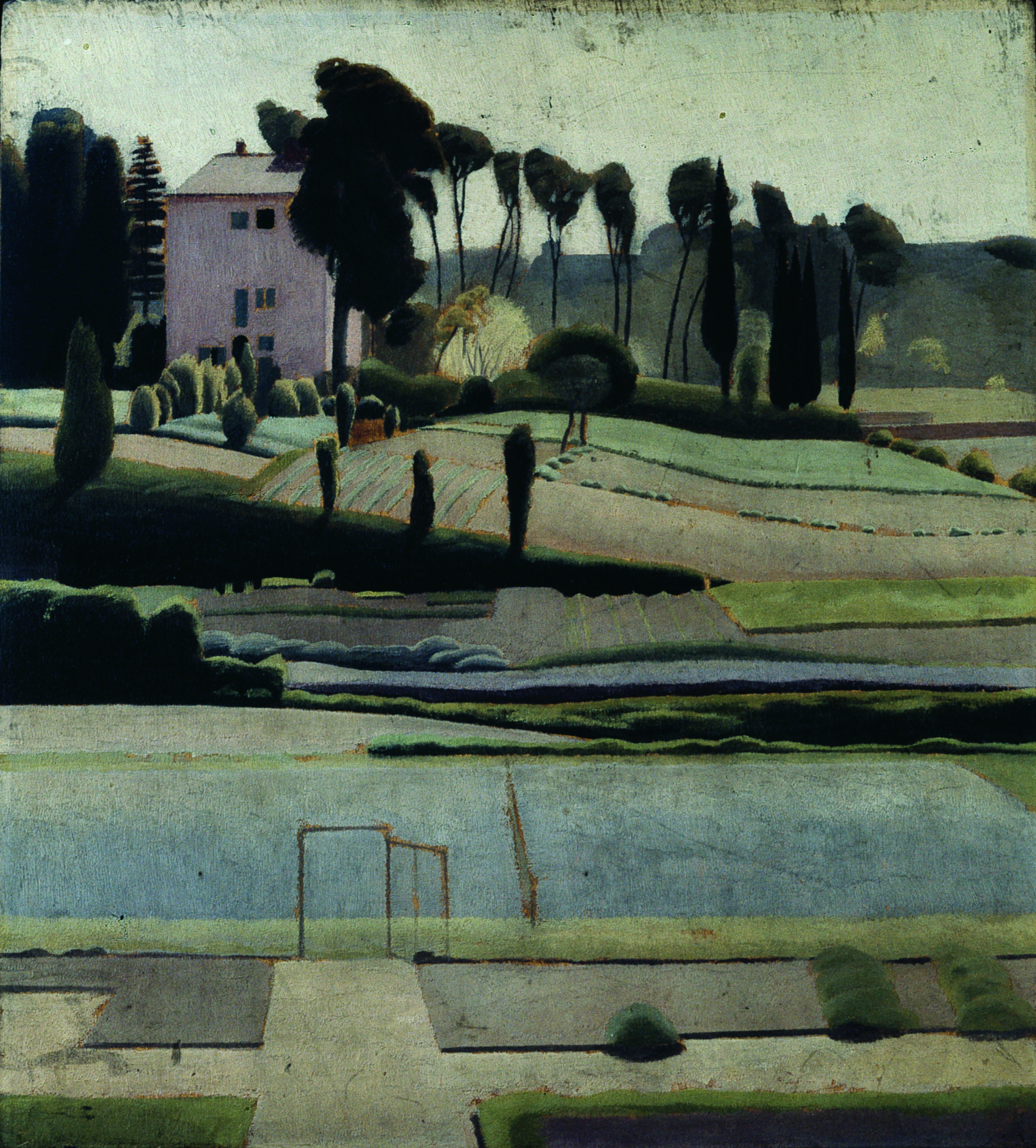 FileA View To The East From British School At Rome By Winifred Knights