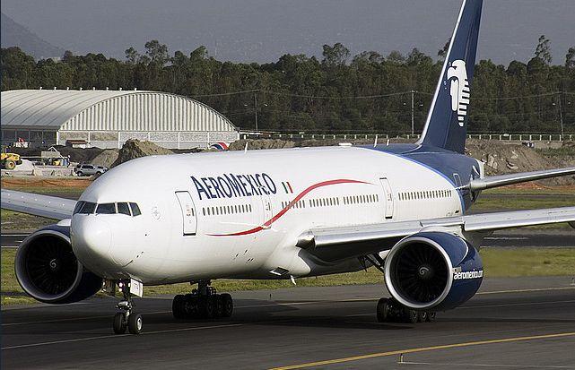 Avión del grupo Aeroméxico
