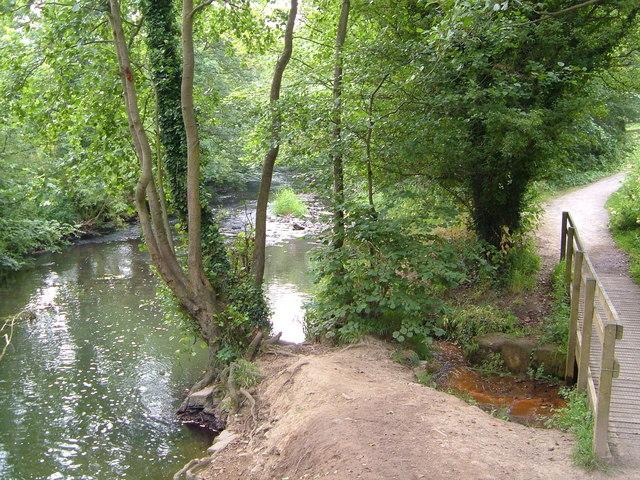 Afon Alun - geograph.org.uk - 204683