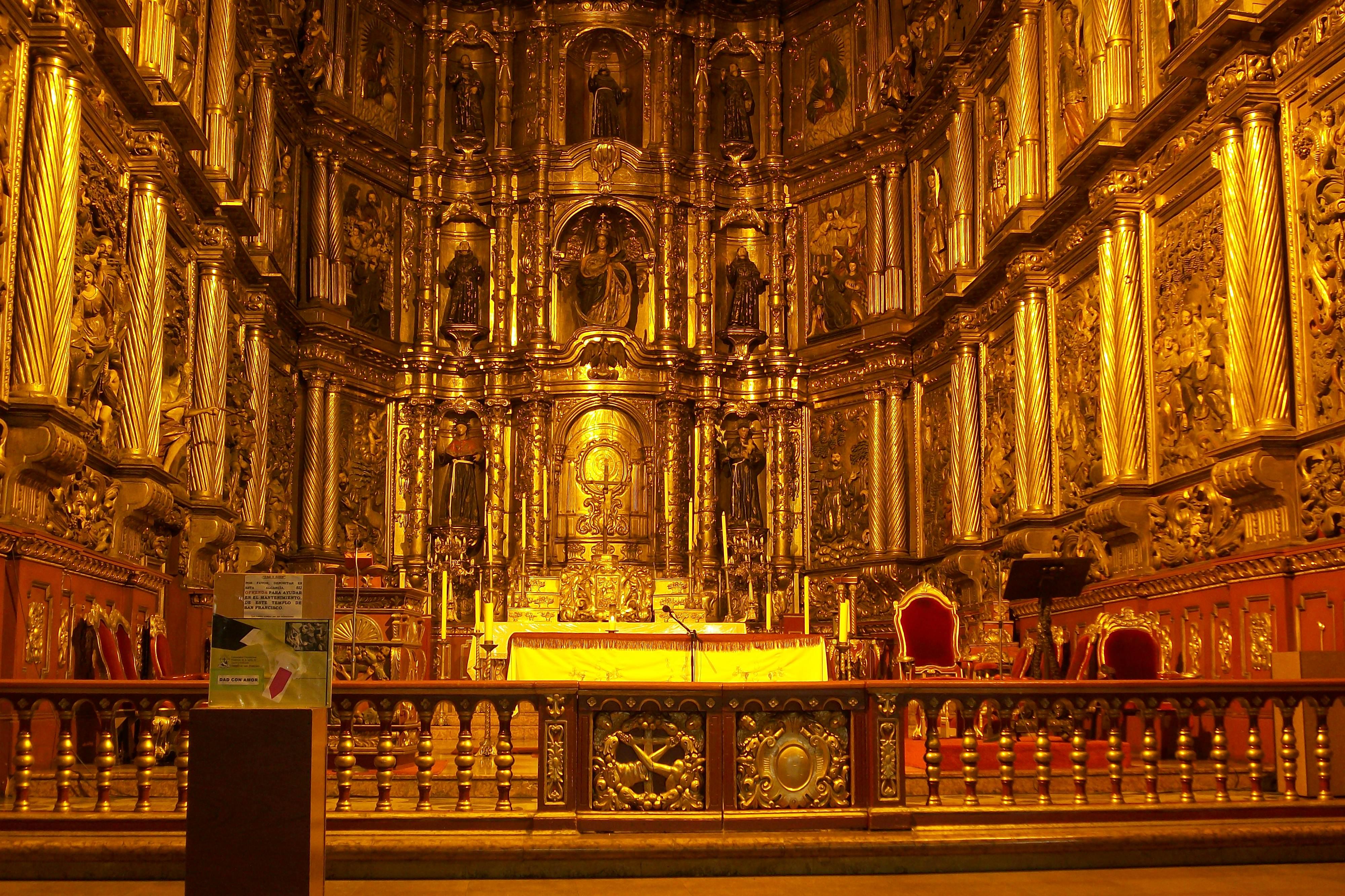 Archivo:Altar iglesia de San Francisco.JPG - Wikipedia, la enciclopedia  libre