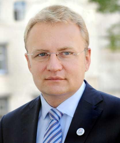 Lembergs Bürgermeister Andrij Sadowyj