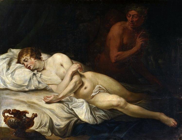 Śpiąca Wenus z Satyrem