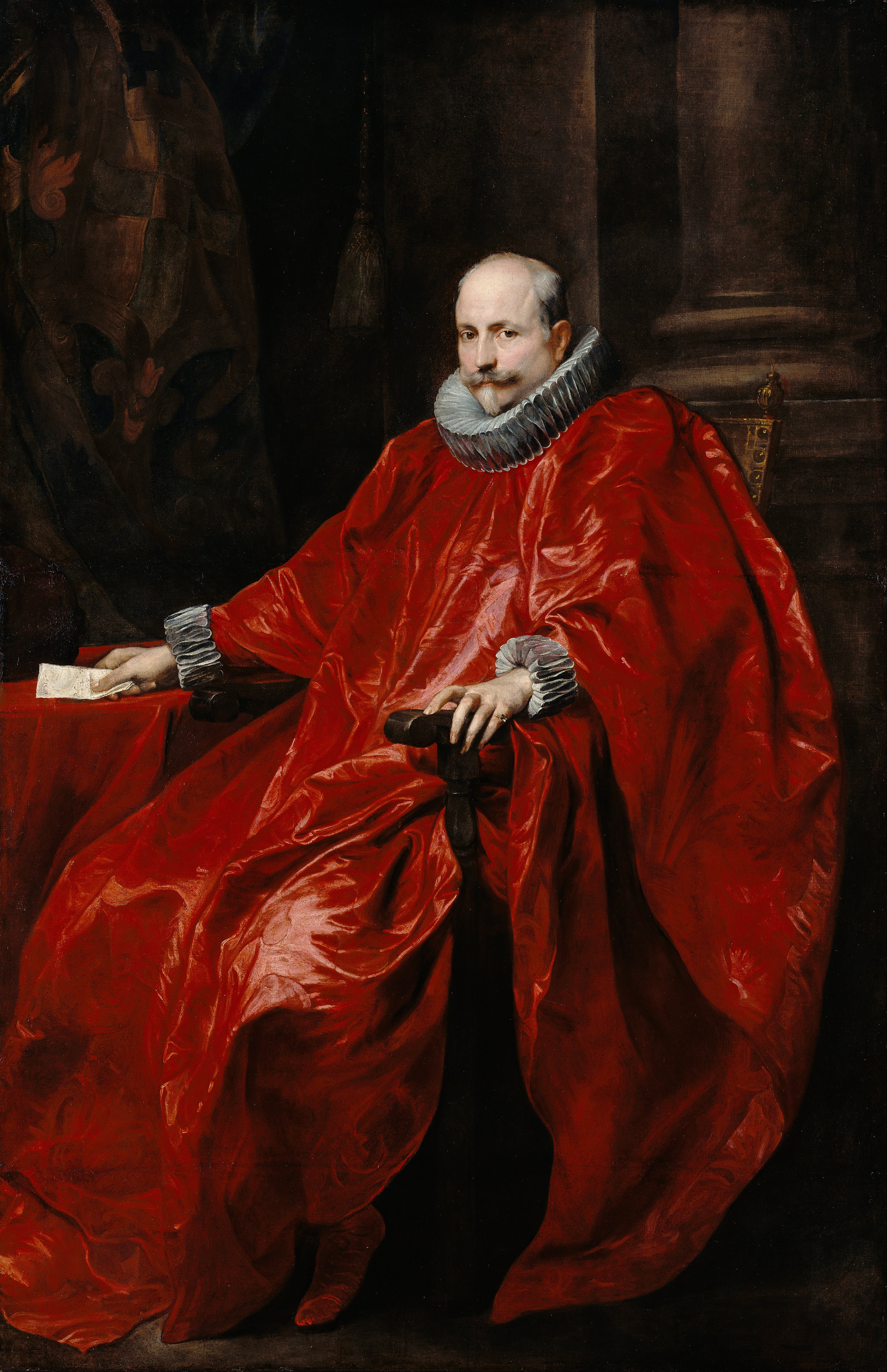 Anthony van Dyck: Portrait of Agostino Pallavicini