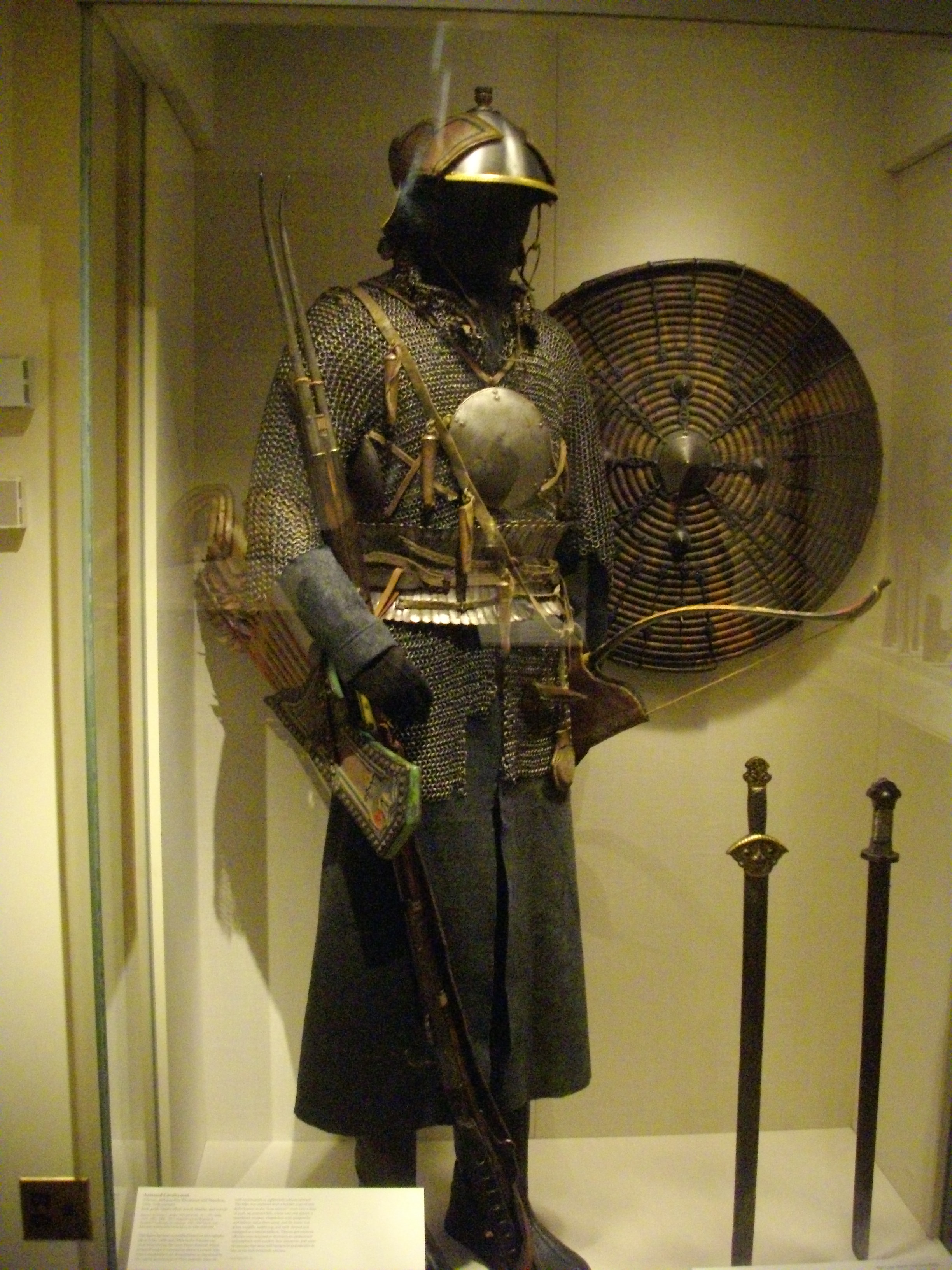 File:Antique chainmail armour with mirror.jpg - Wikimedia ...