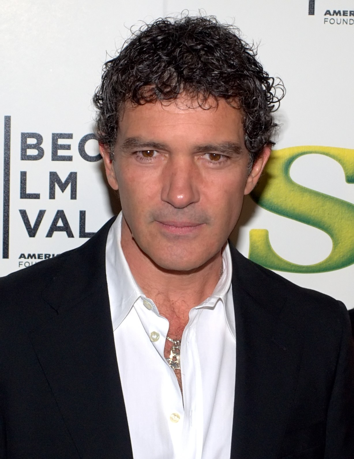 The 57-year old son of father José Domínguez  and mother Ana Banderas, 175 cm tall Antonio Banderas in 2018 photo