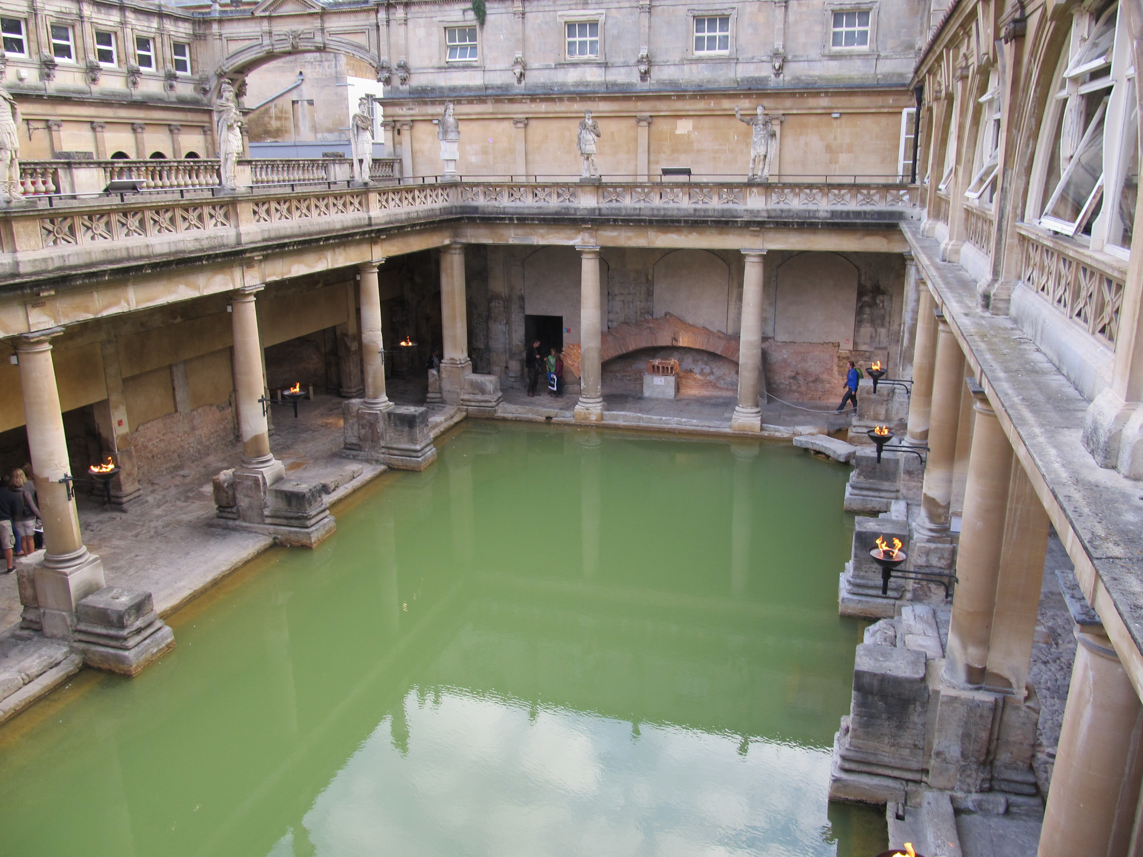 the baths of aquae sulis The day began with a personal guided tour of the roman baths, including  as scholars walked through the ruins of aquae sulis (the roman.