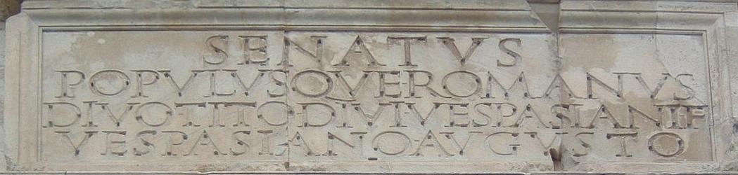 the arch of titus propaganda