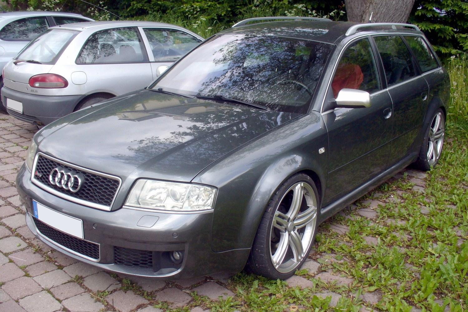 File Audi Rs6 C5 Avant Jpg Wikimedia Commons