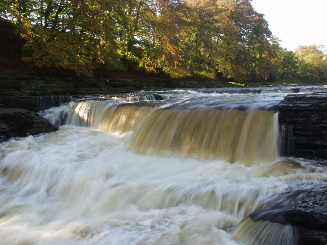Aysgarth, Lower Falls - geograph.org.uk - 231976
