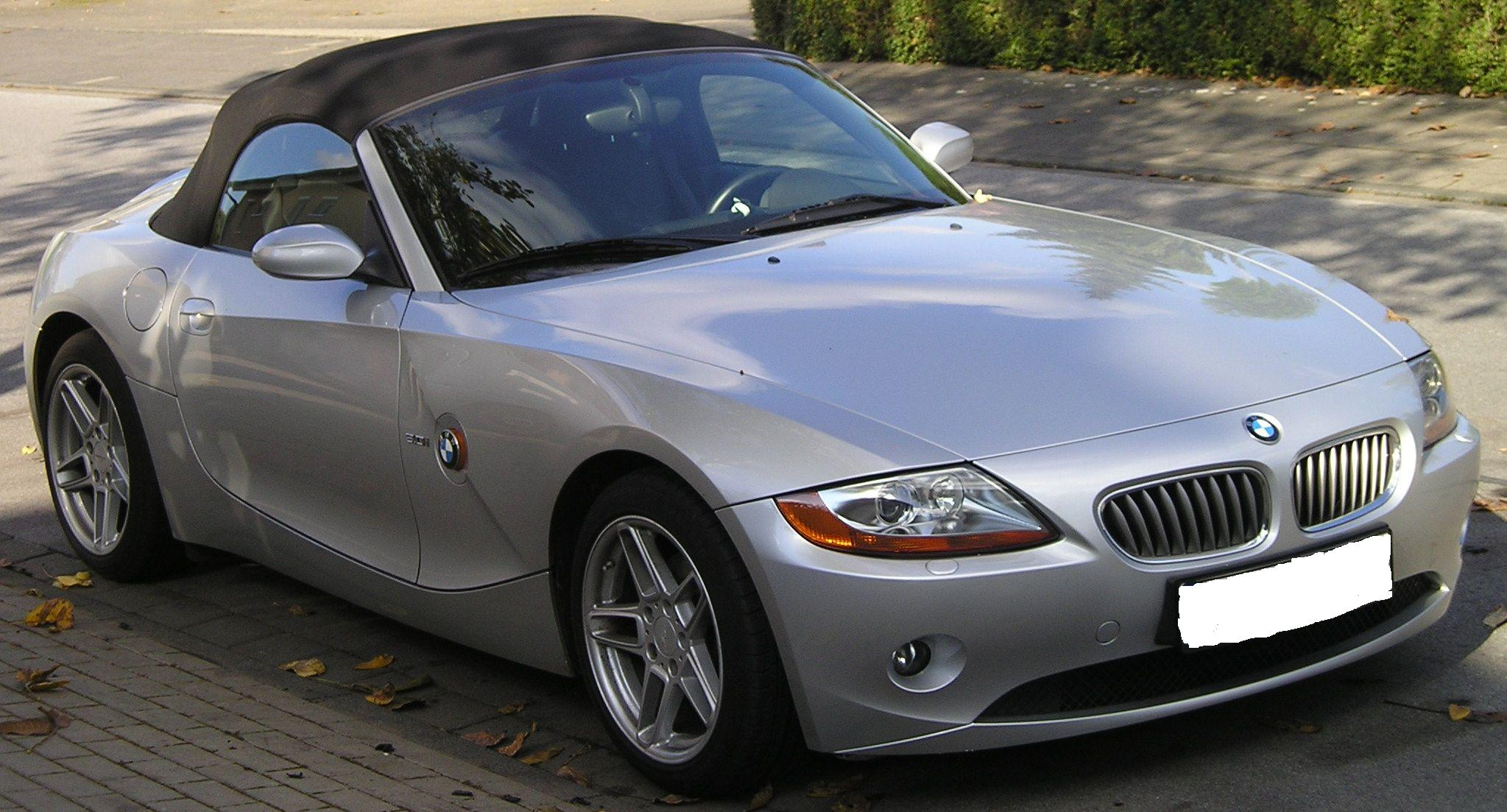 File Bmw Z4 Front Extract Jpg Wikimedia Commons