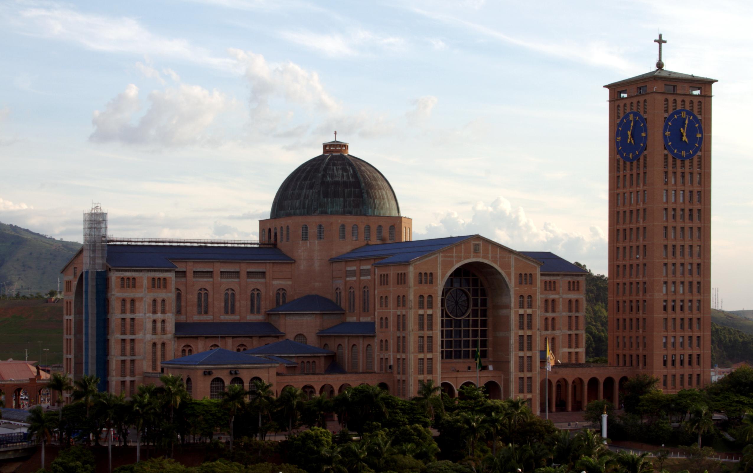 File Frente Da Basílica De Nossa Senhora Aparecida: File:Basilica Of Aparecida