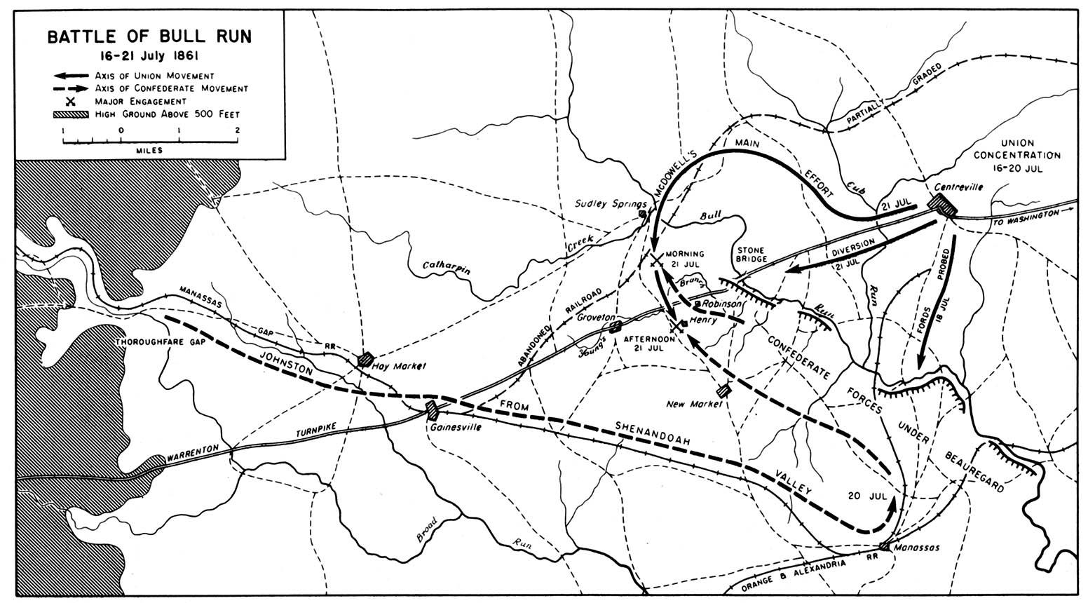 File:Battle of Bull Run map.png - Wikimedia Commons