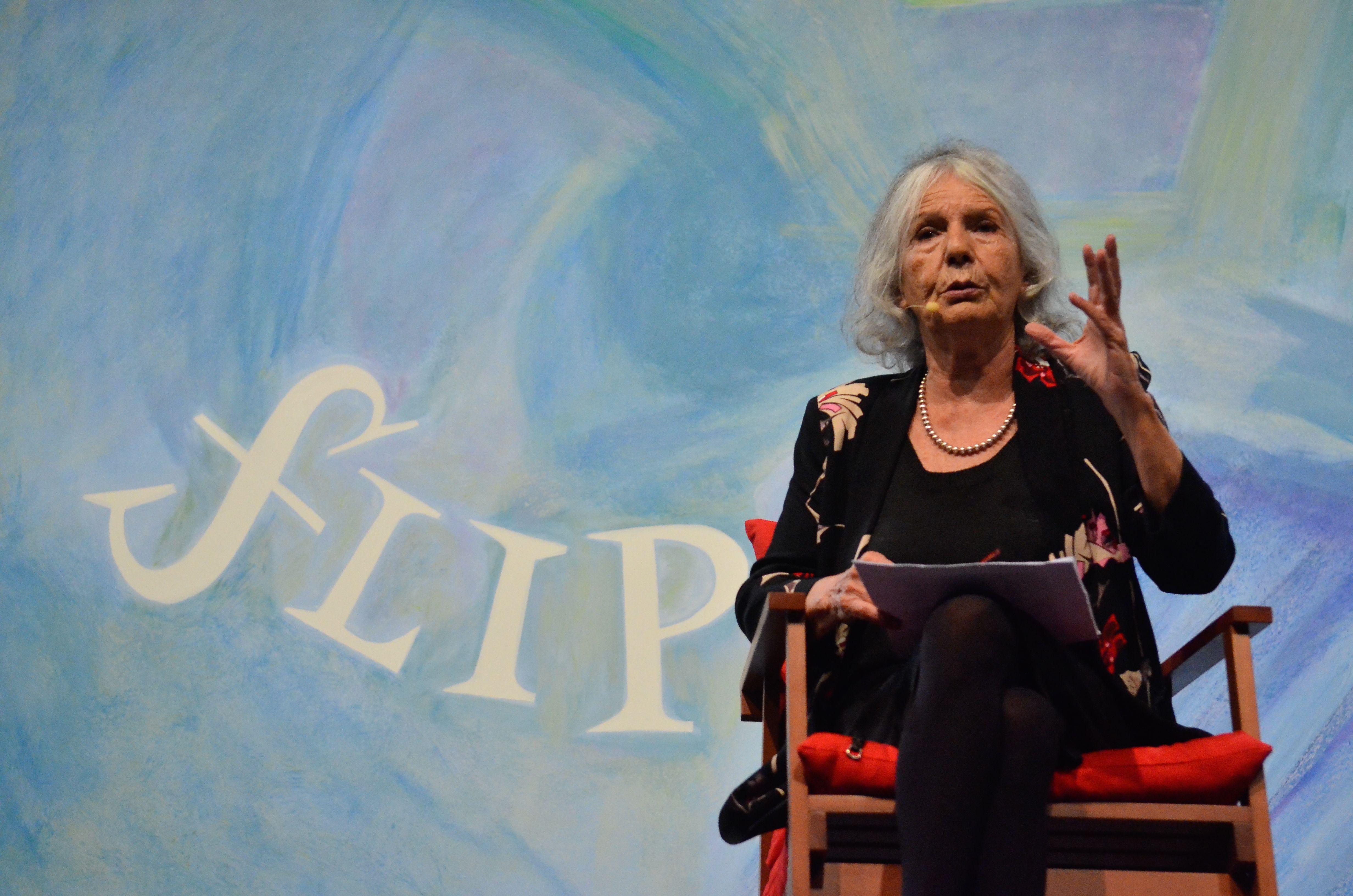 Beatriz Sarlo in 2015