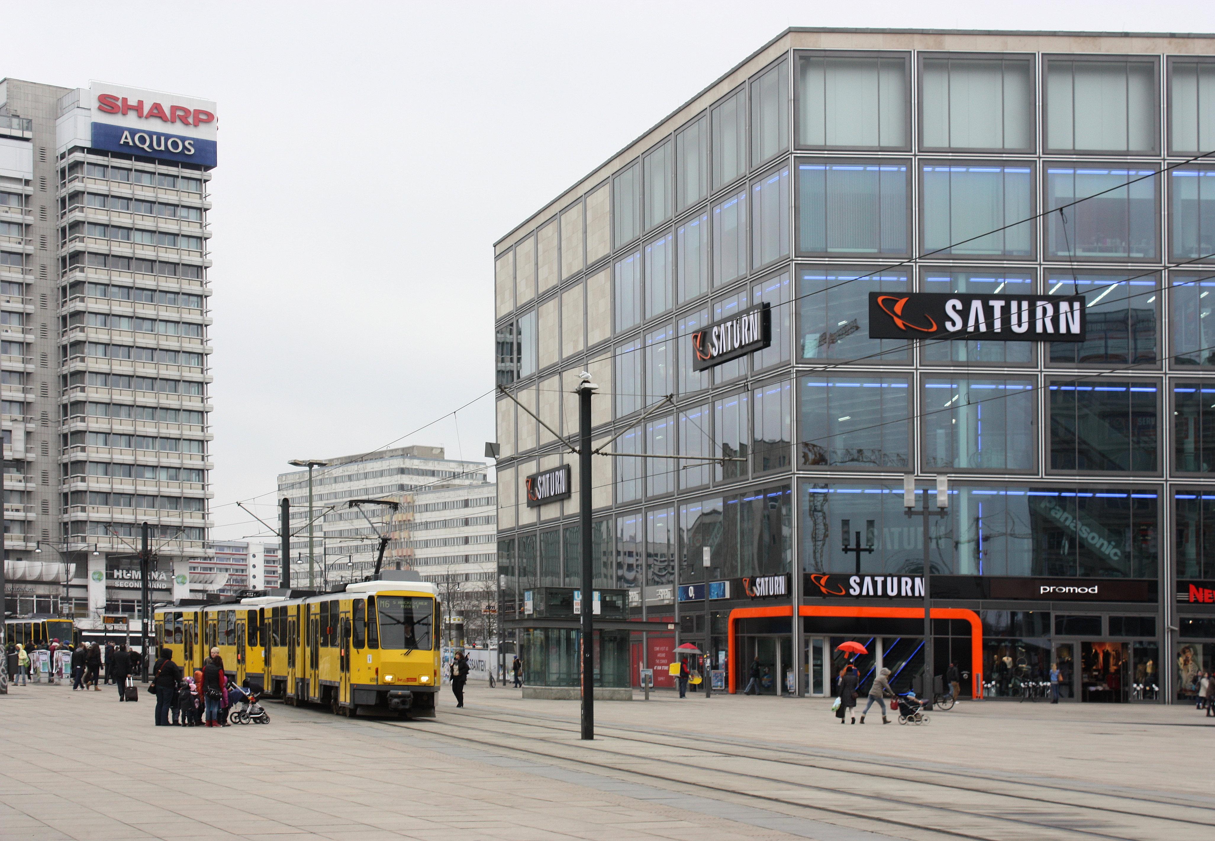 Berlin-Mitte,_Saturn_on_the_Alexanderplatz Schöne Led Bodeneinbaustrahler Set Außen Dekorationen