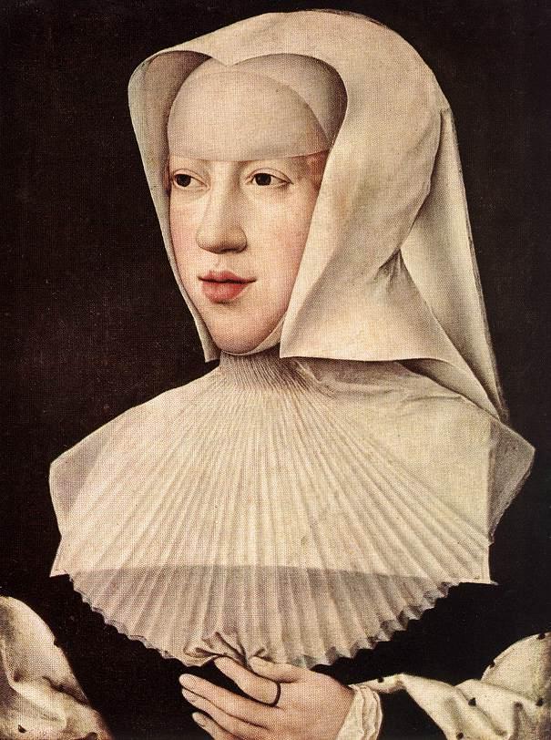 Bernard van Orley - Portrait of Margareta van Oostenrijk - WGA16689.jpg