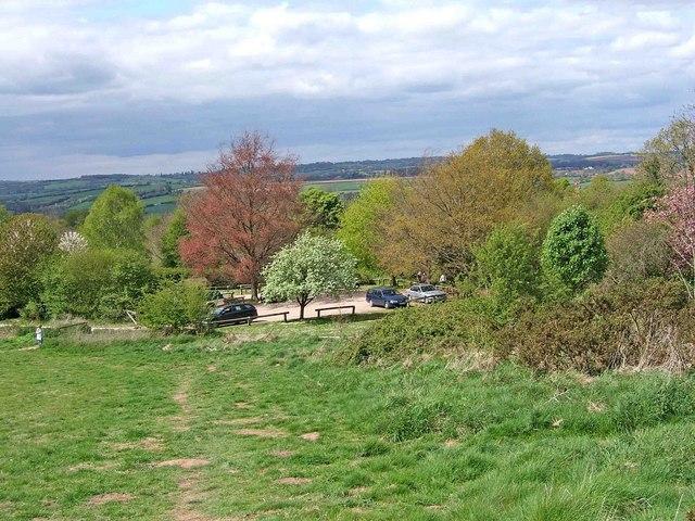 Bromyard Downs car park - geograph.org.uk - 1277526