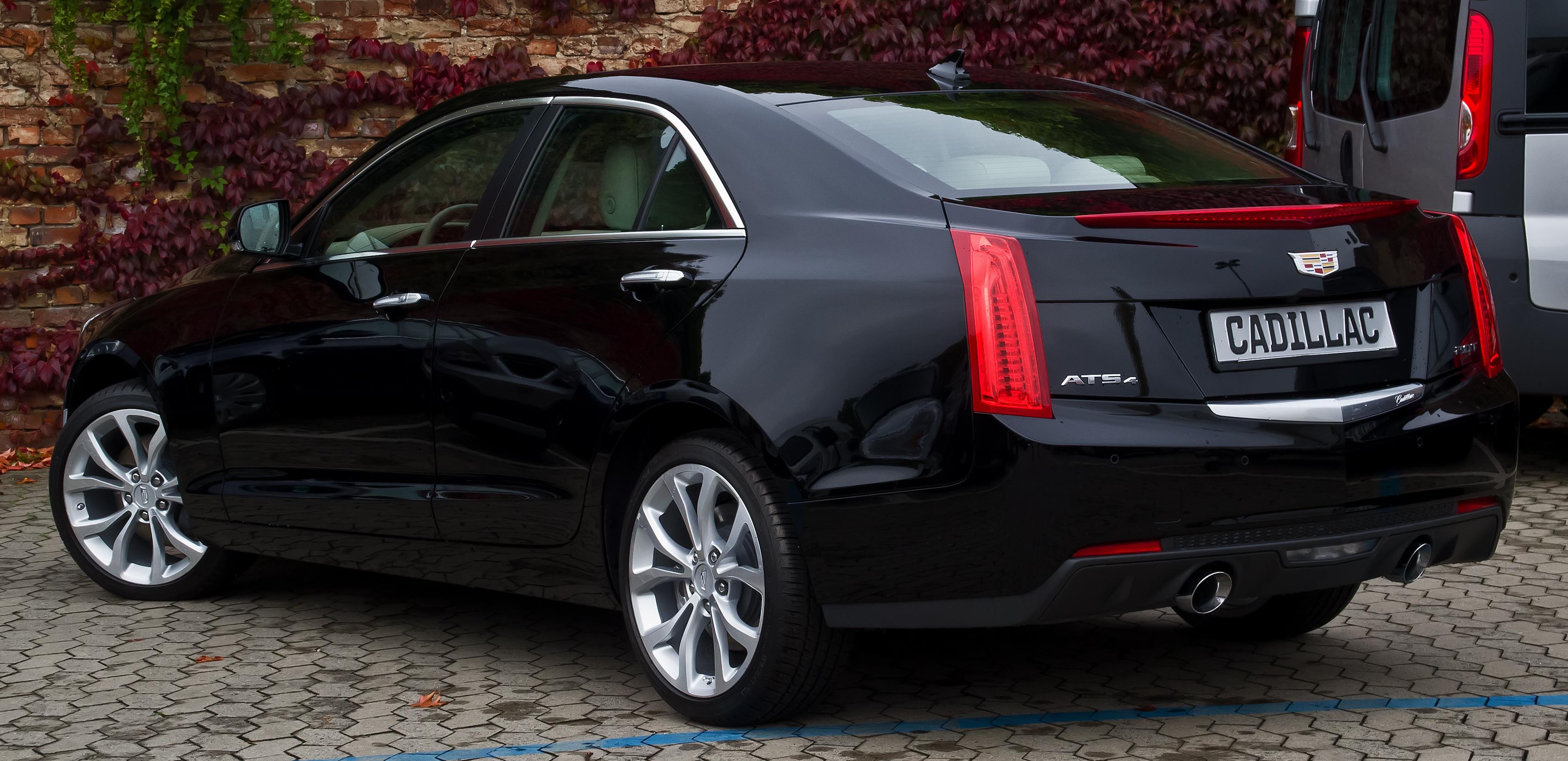 File Cadillac Ats 2 0 Turbo Awd Premium Heckansicht 16