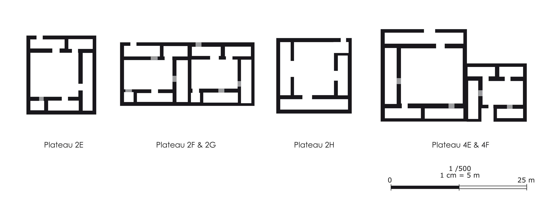 File Capel 6 Plans Schematiques A L Echelle De Quelques Maisons Du Jebel Mudawwar Jpg Wikimedia Commons