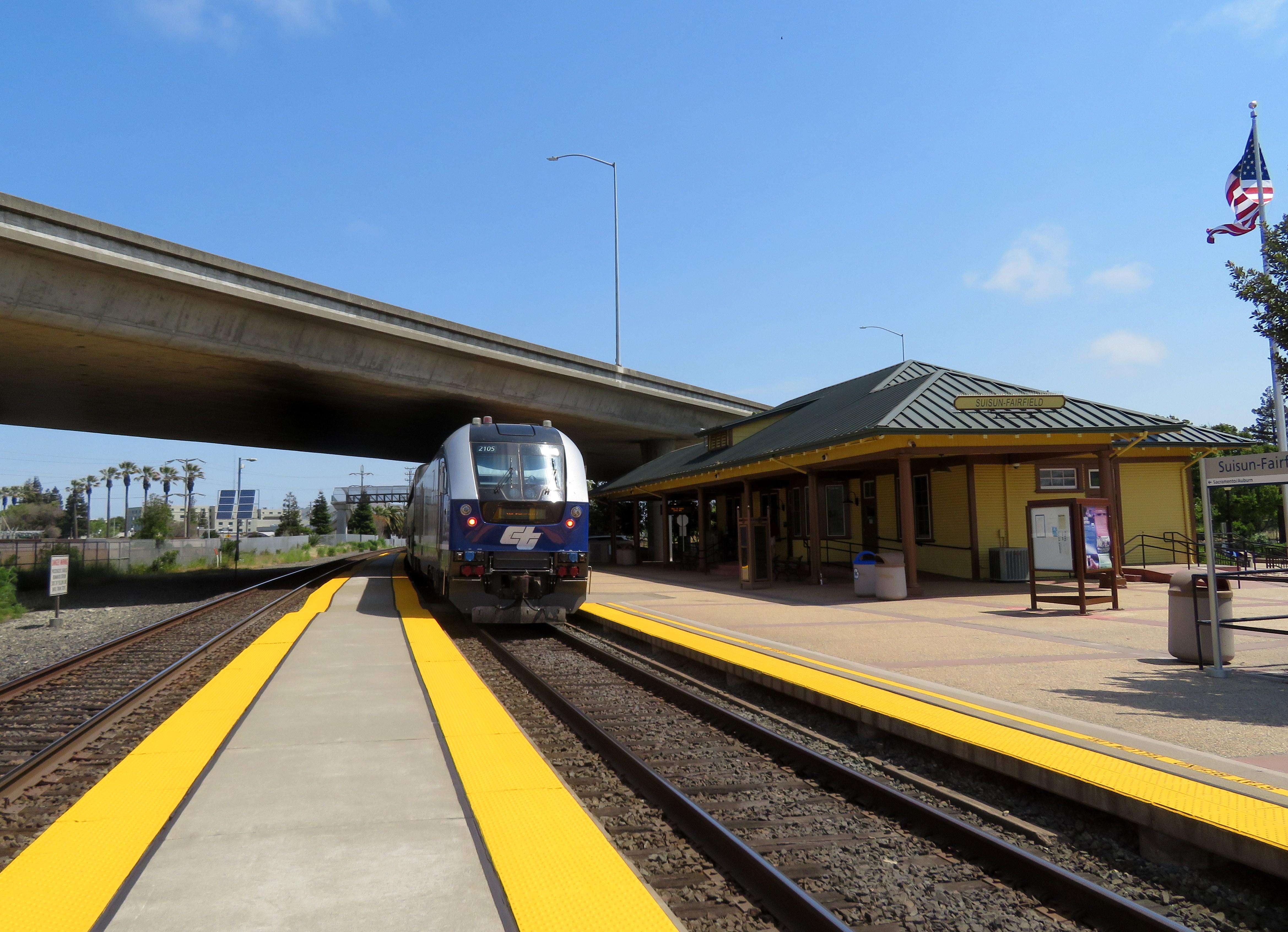 Suisun–Fairfield station - Wikipedia