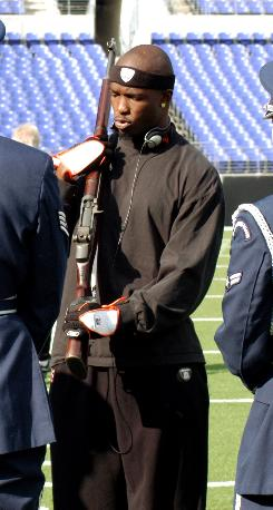 Chad Johnson, Cincinnati Bengals wide receiver...