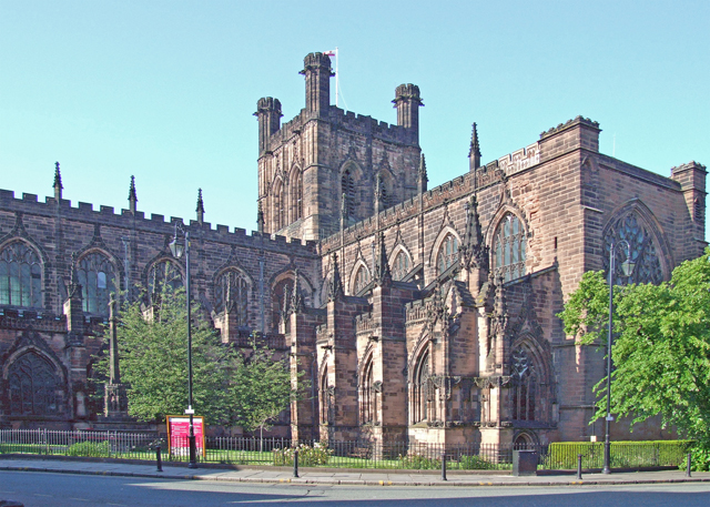 Chester Cathedral - geograph.org.uk - 1335354