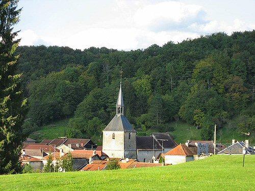 Vue de Cirey-sur-Blaise