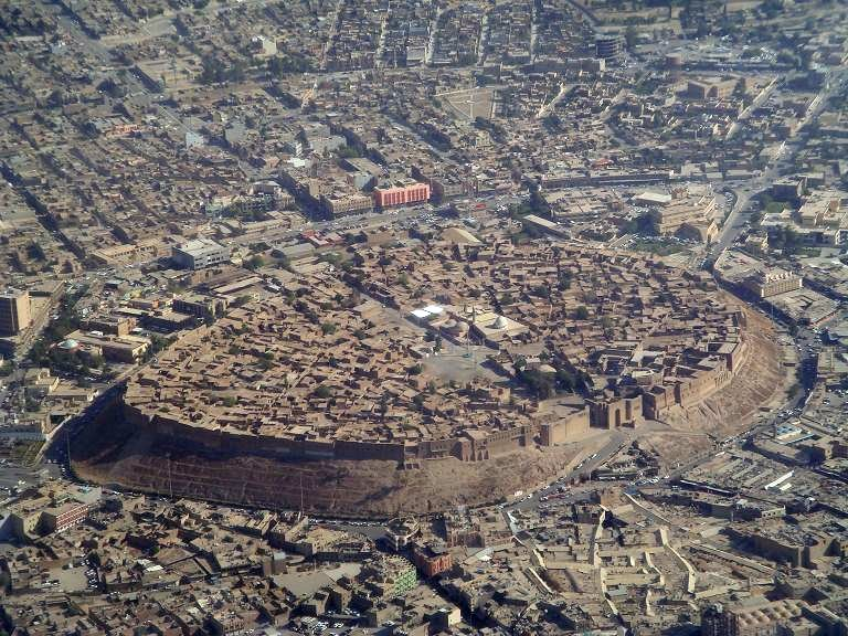 Erbil in the past, History of Erbil