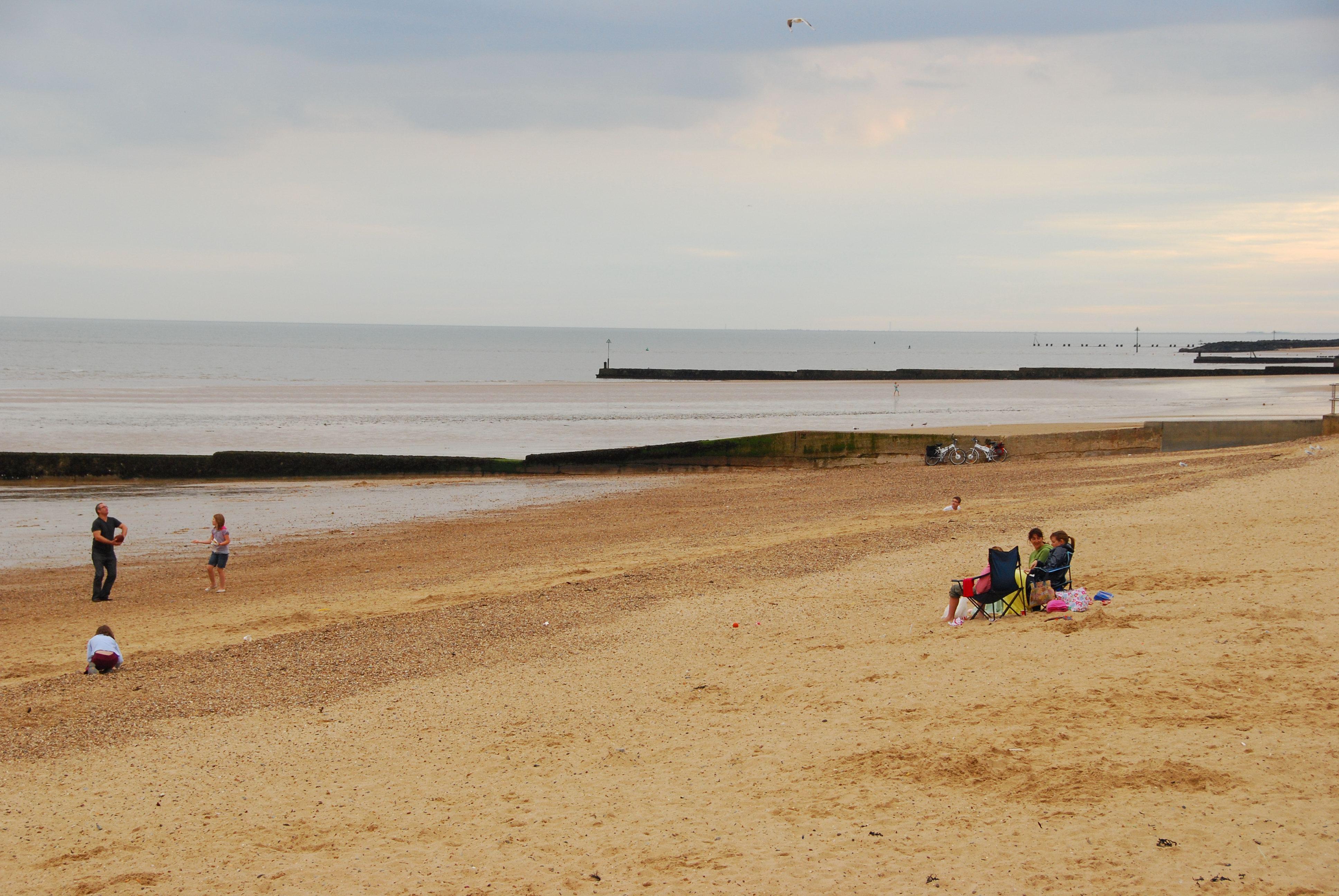London To Clacton On Sea Beach