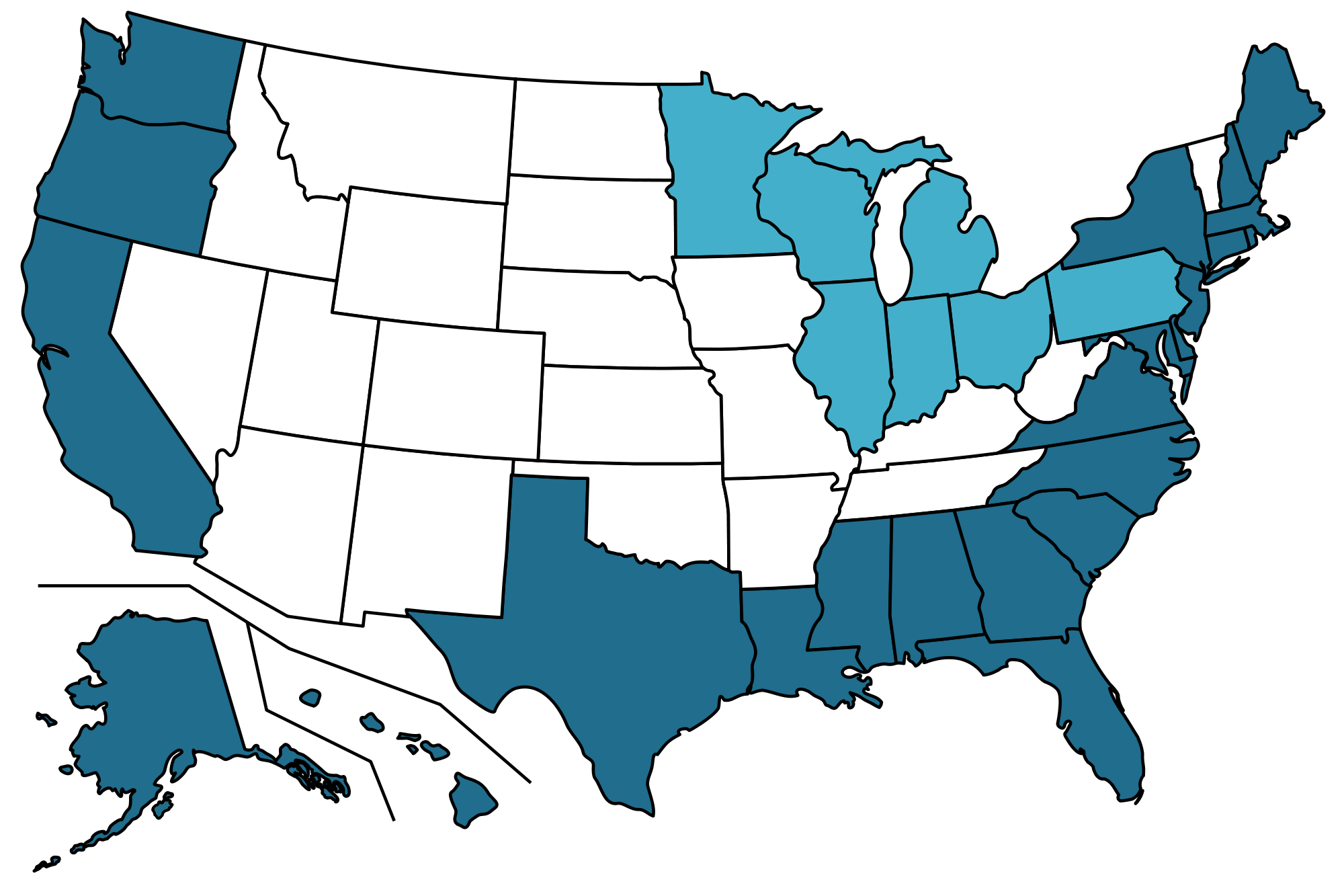 List of U.S. states and territories by coastline - Wikipedia