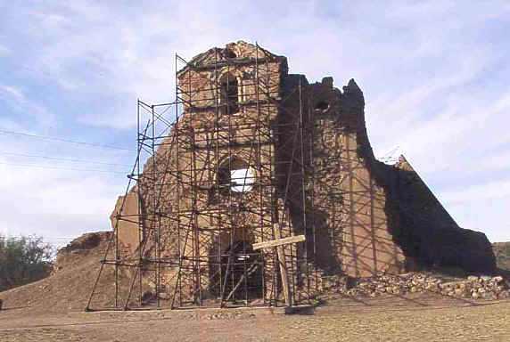 Resultado de imagen para Misión de Nuestra Señora del Pilar y Santiago de Cocóspera