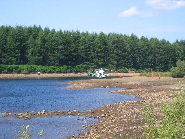 Cod beck Reservoir Incident - geograph.org.uk - 29271