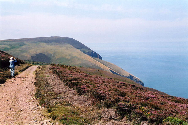 Combe Martin, west to Great Hangman - geograph.org.uk - 93644
