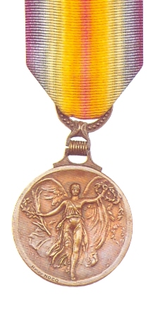 Greek version of the WWI Victory Medal-obverse...