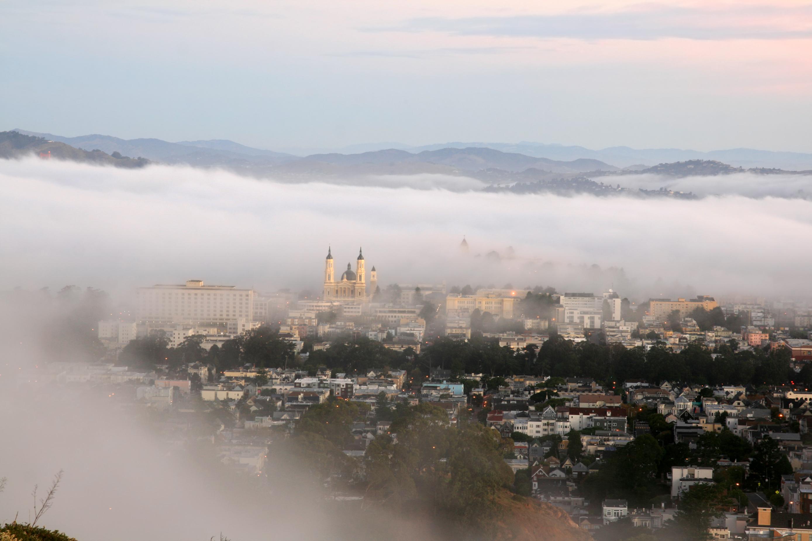 Golden Gate Bridge Morning And Golden Gate Bridge.jpg