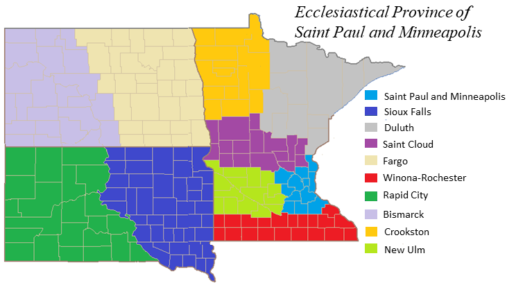 How Did The American Dioceses Vote - Us catholic diocese map