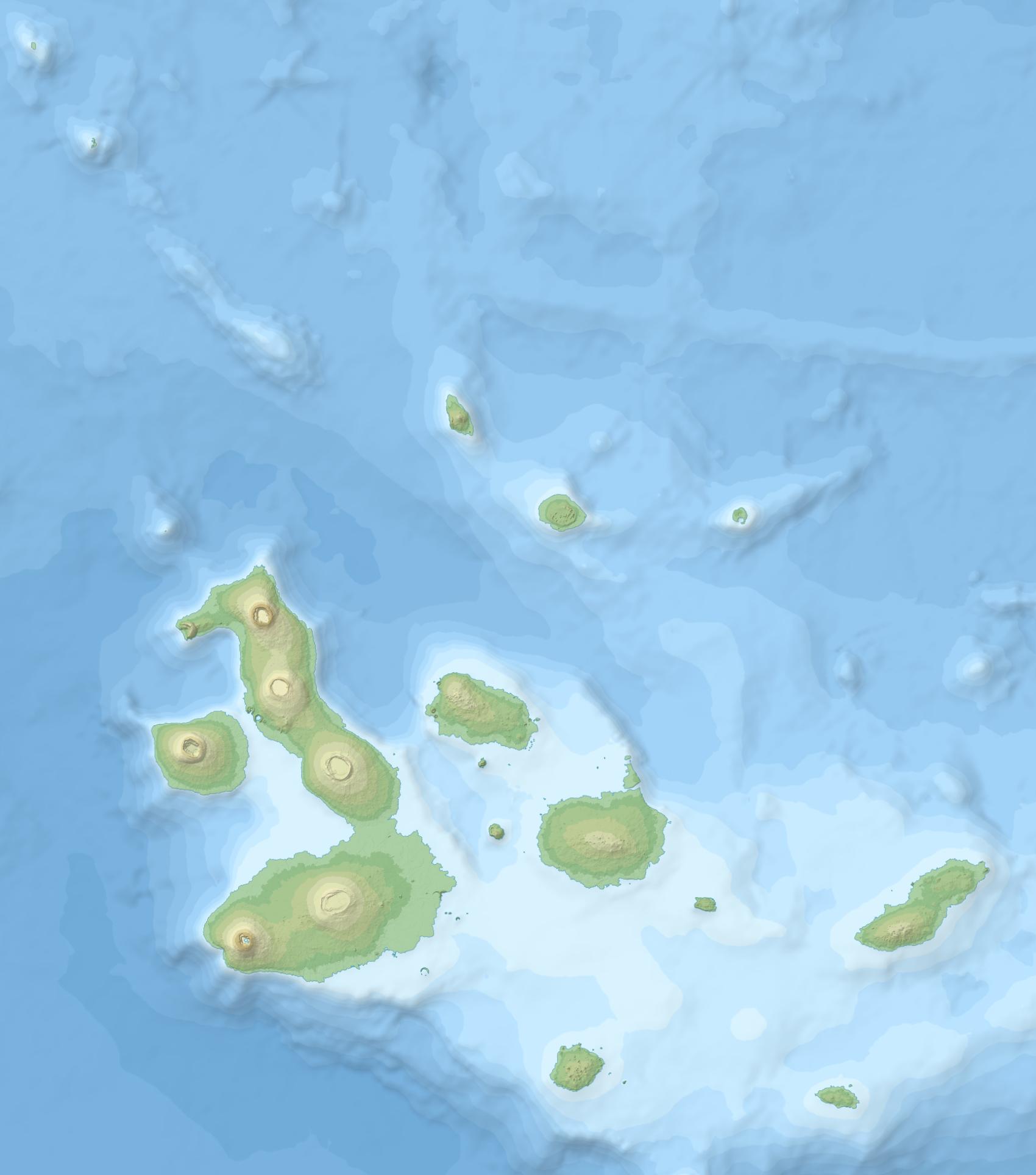 File Ecuador Galapagos Islands Location Topographic Map Png