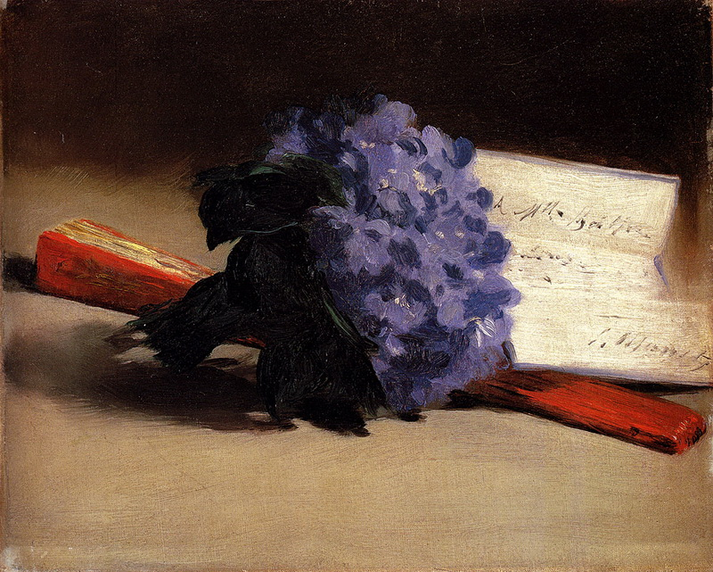File edouard manet bouquet of violets 14045636396 jpg for Bouquet de fleurs wiki
